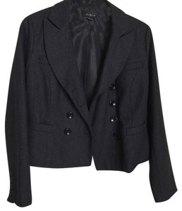 Forever 21 Buttons Dark Grey Blazer