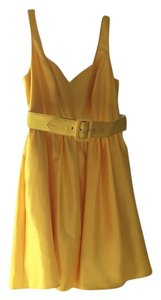 BCX short dress Yellow on Tradesy