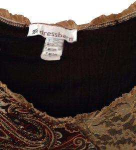 Dress Barn Top Brown