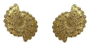 Other Golden Bow Clip On Earrings