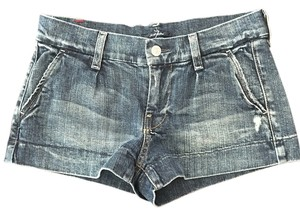 7 For All Mankind Mini/Short Shorts Blue