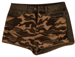 BDG Cut Off Shorts Jean and Camo
