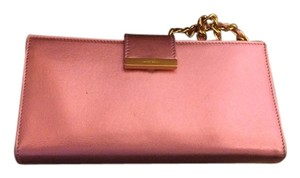Miu Miu Miu Miu Pink Leather Wristlet