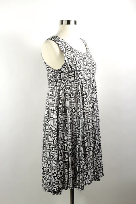 Other short dress Size S Grunge Black & White Empire Waist 1990 on Tradesy