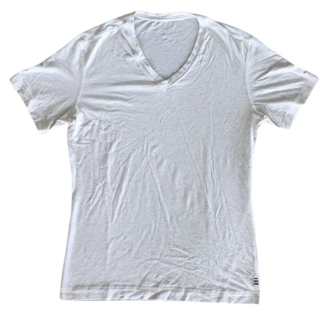 Item - Heatherer Oatmeal Men's 5yr Basic V Tee Shirt Size 4 (S)