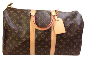 Louis Vuitton Keep All 45 Travel Like New Monogram Travel Bag