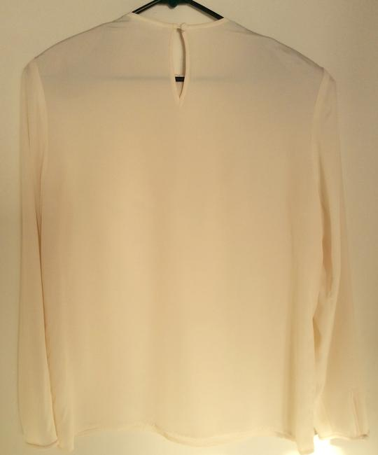 Evan Picone Top Pale yellow