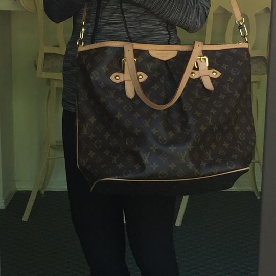 Louis Vuitton Like New Monogram Ideal For Brown Travel Bag