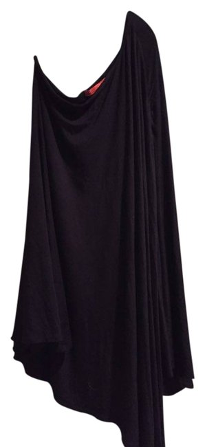 Preload https://item5.tradesy.com/images/feel-the-piece-black-one-shoulder-above-knee-cocktail-dress-size-0-xs-10357744-0-2.jpg?width=400&height=650