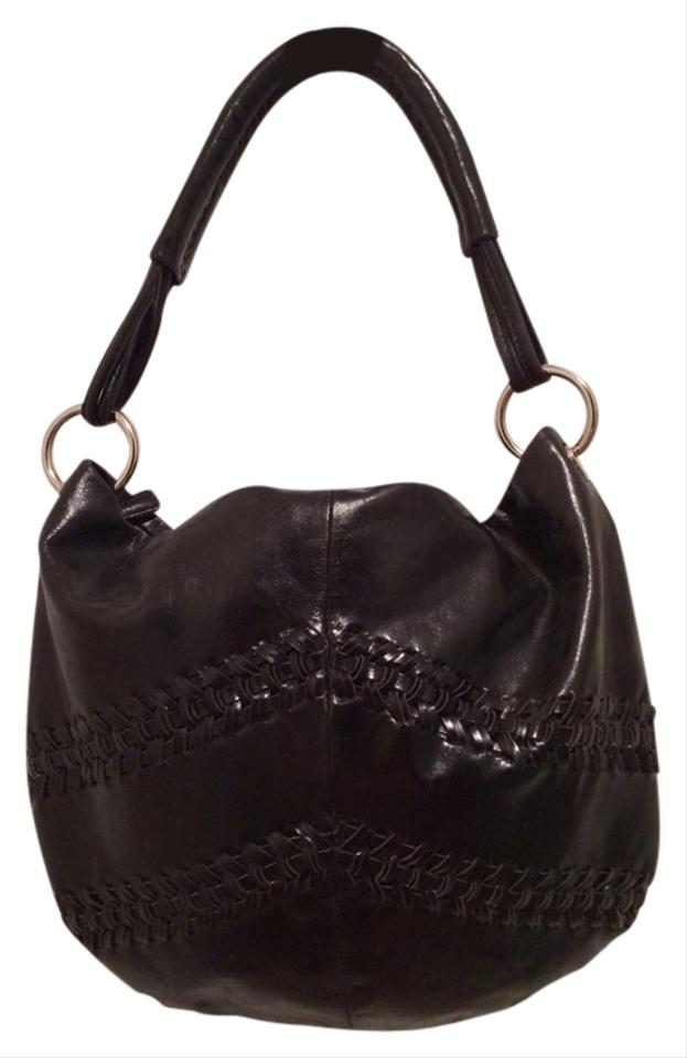 franco sarto black leather shoulder bag black franco