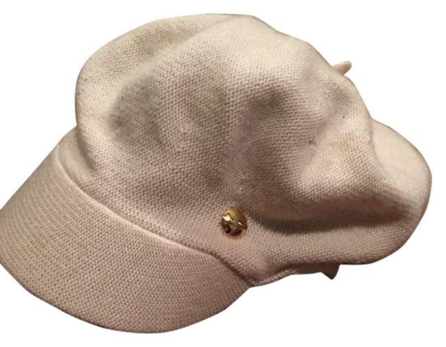 Item - Ivory Wool and Cashmere Paperboy Hat