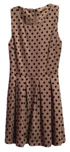 Sans Souci short dress Black and tan on Tradesy