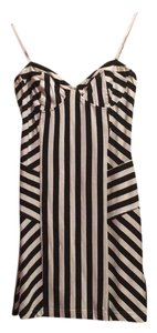 Billabong Striped Bodycon Comfortable Stretchy Dress