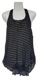 Urban Outfitters Nwot New Without Tags Button Top black, gold