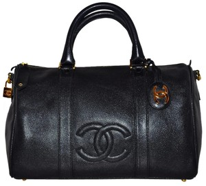 Chanel Paris Satchel in Black