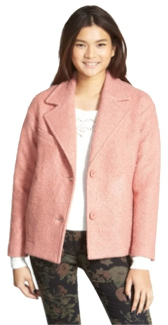 Preload https://item1.tradesy.com/images/elodie-mauve-boucle-jacket-pea-coat-size-4-s-10359580-0-1.jpg?width=400&height=650