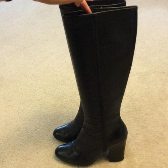 Prada Leather Knee-high High black Boots