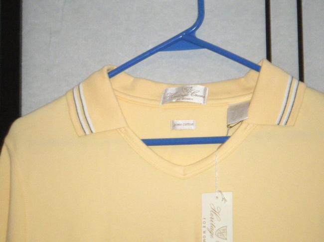 HERITAGE GOLF T Shirt YELLO9W