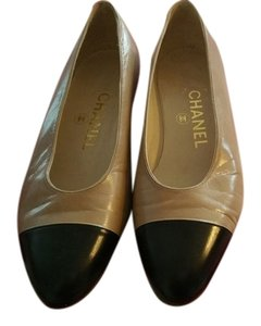 Chanel Classic Leather Brown and black Flats