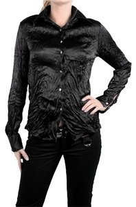 Roberto Cavalli Button Down Shirt Black