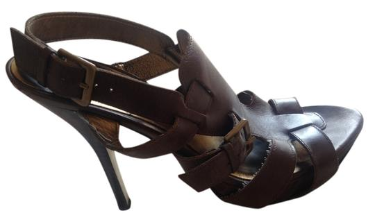 Guess By Marciano Rock Star Brown Sandals