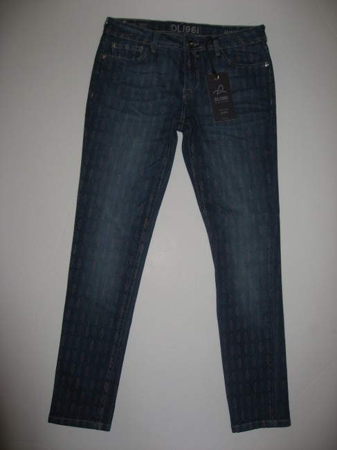 DL1961 Premium Skinny Jeans-Medium Wash