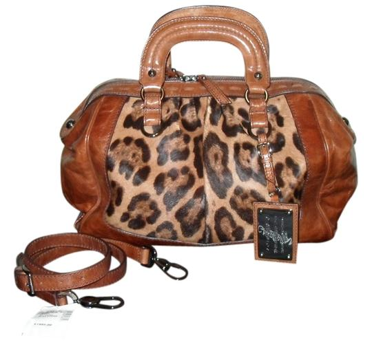 Preload https://item1.tradesy.com/images/dolce-and-gabbana-brown-leopard-print-leather-and-calf-hair-satchel-1036160-0-0.jpg?width=440&height=440