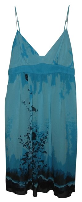 Preload https://item1.tradesy.com/images/bcbgmaxazria-blue-and-black-printed-babydoll-above-knee-short-casual-dress-size-4-s-1036175-0-0.jpg?width=400&height=650