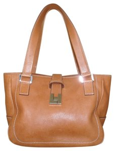 Lambertson Truex Tote in Saddle