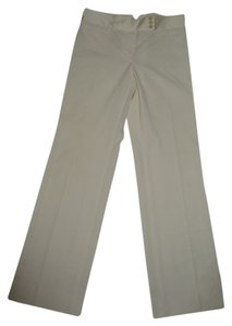 BCBGMAXAZRIA Wide Leg Cream Dress Trouser Pants Ivory