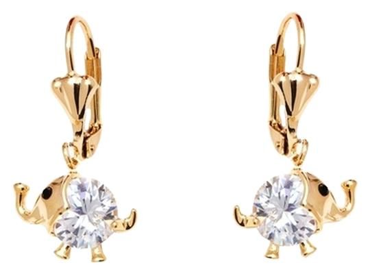Preload https://img-static.tradesy.com/item/10364686/gold-and-crystal-elephant-for-girls-made-with-swarovski-elements-earrings-0-1-540-540.jpg