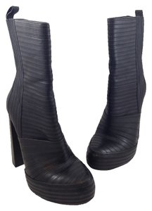 Alexander Wang Leather Tasha Black Boots