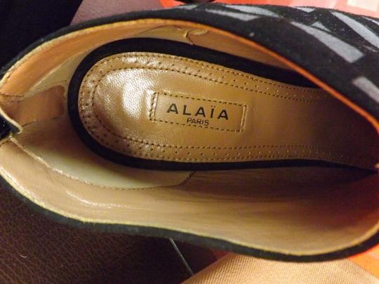 ALAA Black/Gray Boots