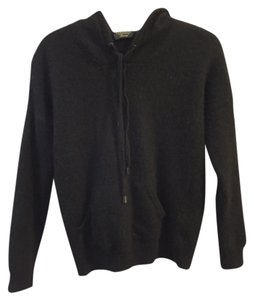 Charter Club Cashmere Hooded Luxury Soft Comfortable Black Jacket