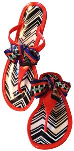 Missoni orange/red Sandals