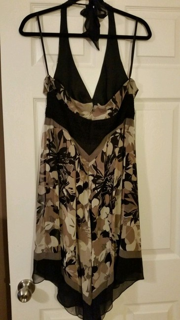 BCBG Paris Halter Chiffon Dress