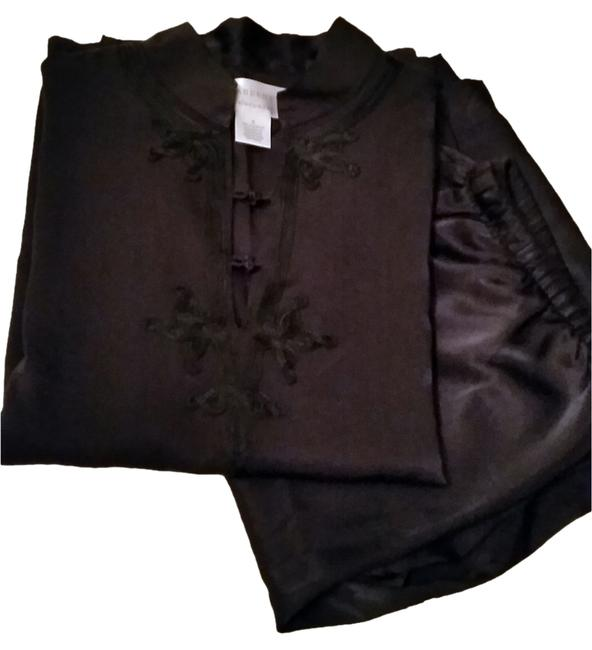 Preload https://item1.tradesy.com/images/cabernet-black-detail-adorns-this-indulgently-silky-lounge-set-night-out-top-size-6-s-10368520-0-2.jpg?width=400&height=650