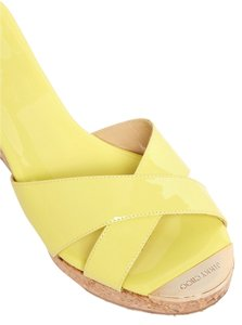 Jimmy Choo yellow Wedges