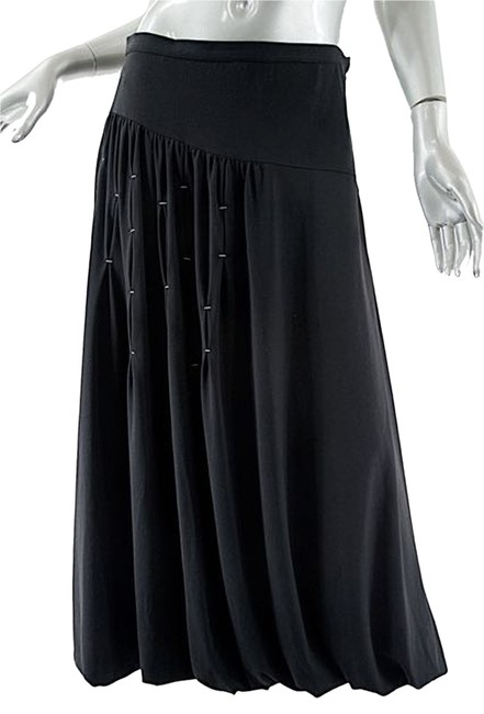 Preload https://item3.tradesy.com/images/black-polyester-blend-knit-bubble-wstitching-size-10-m-31-10370002-0-1.jpg?width=400&height=650
