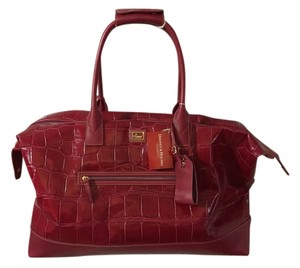Dooney & Bourke red /fucshia Travel Bag