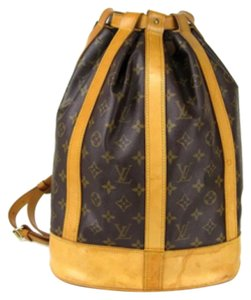 Louis Vuitton Lv Mono Backpack