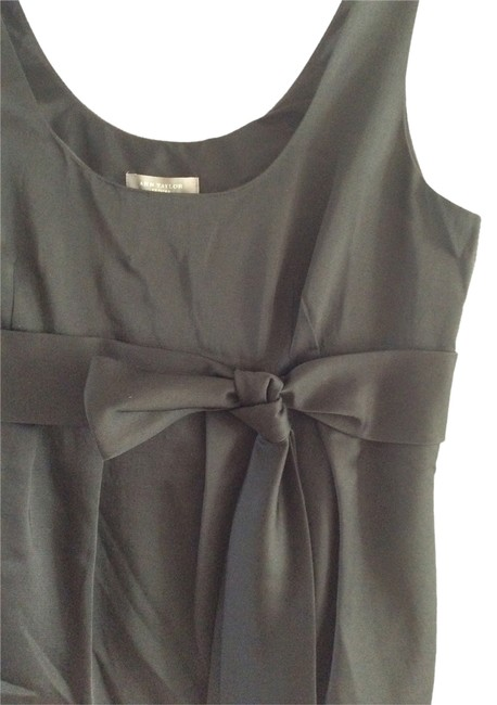 Ann Taylor Special Occassion Shell Evening Sleeveless Top Black