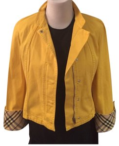 Burberry London Yellow Jacket