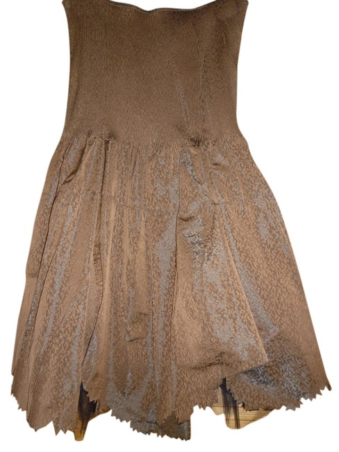 Preload https://item3.tradesy.com/images/cotelac-brown-above-knee-night-out-dress-size-2-xs-1037272-0-0.jpg?width=400&height=650