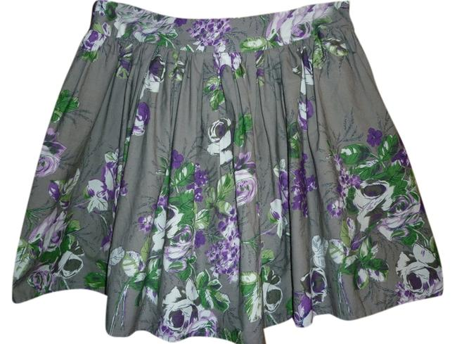 Lux Floral Skirt