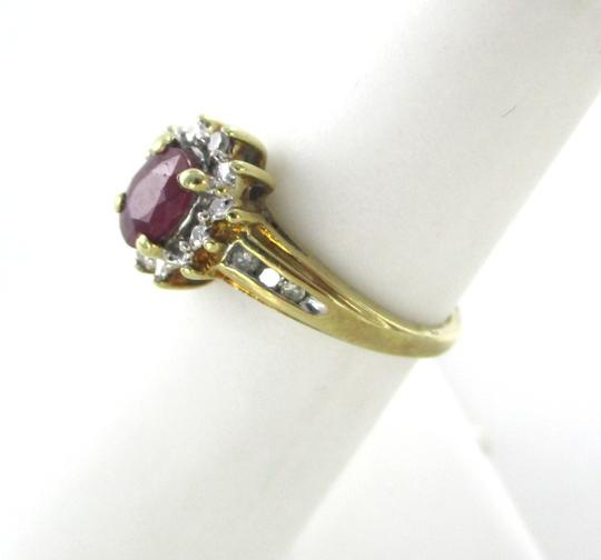 Other 10K Solid Yellow Gold Diamond Ring