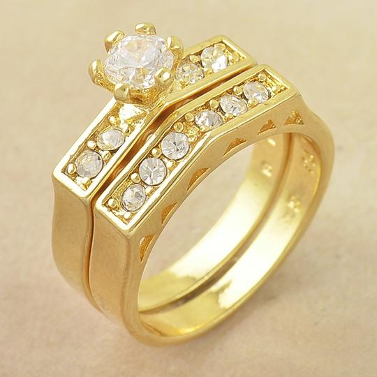 Preload https://item2.tradesy.com/images/yellow-gold-bogo-free-2-pc-white-topaz-free-shipping-women-s-wedding-band-set-1037401-0-0.jpg?width=440&height=440