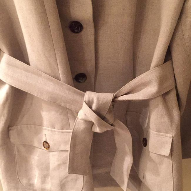 Designs by Lane Bryant Linen Blazer