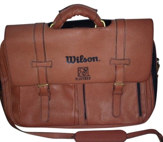 Preload https://item2.tradesy.com/images/wilson-players-inc-basketball-leather-briefcase-brown-messenger-bag-1037411-0-0.jpg?width=440&height=440