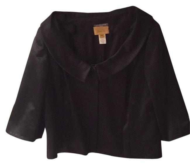 Saks Fifth Avenue Salon Z Blac Blazer